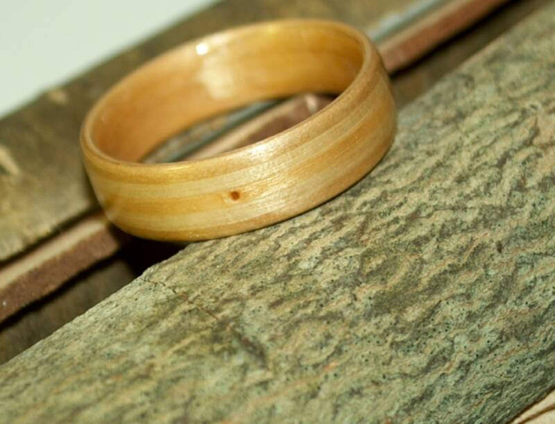 Create a ring from your own woods