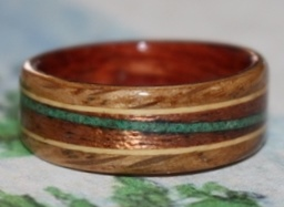 Julie's Touch Wood Ring