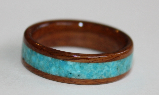 ironwood wenge shop lignum custom wood rings layered rosewood ring wooden