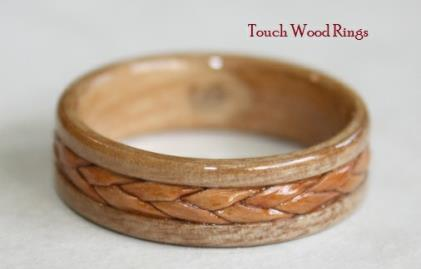 How to make a birch bark ring for How to make a wooden ring