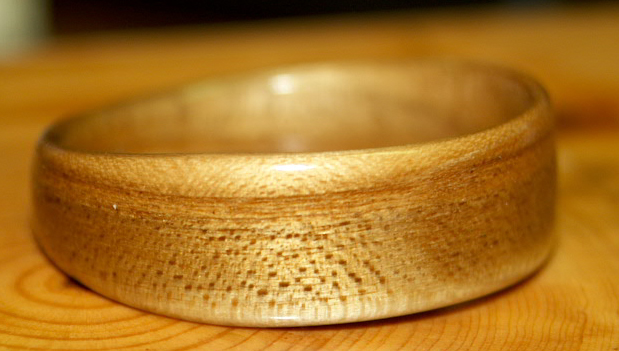 Wooden Ring, Russian Olive Wood, Touch Wood Rings
