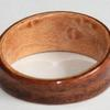 MAPLE Ring ~ The liner of this ring is a lovely example of Birds eye MAPLE